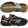Hi-Tec M550 3D Squash / Racquetball Men's Shoes, Black/Red/Silver