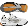 Hi-Tec M550 3D Squash / Racquetball Men's Shoes, White/Black/Silver