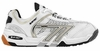 last few - Hi-Tec M550 Squash / Racquetball Men's Shoes, White / Black