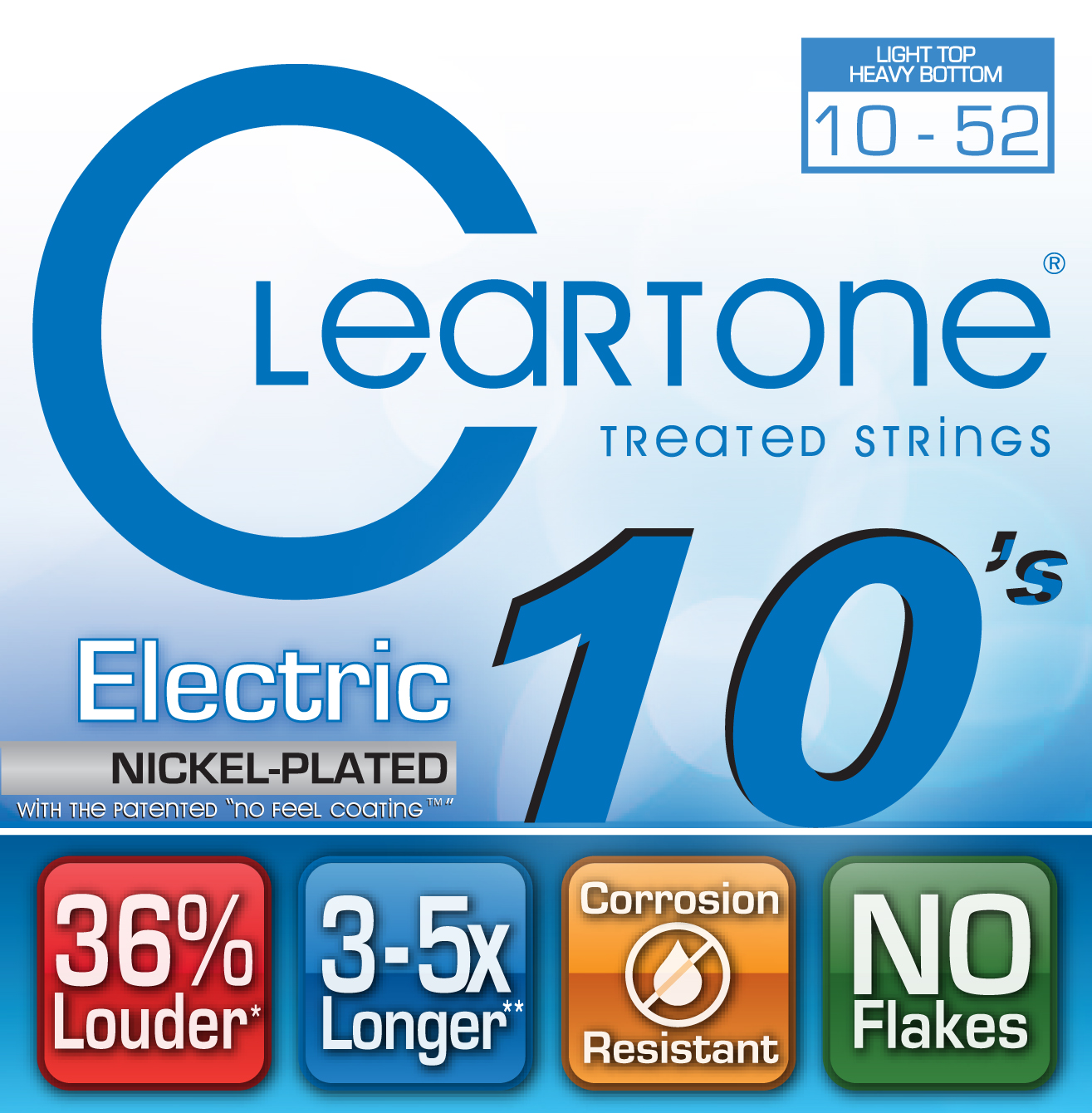 Cleartone EMP Coated Electric Guitar Strings
