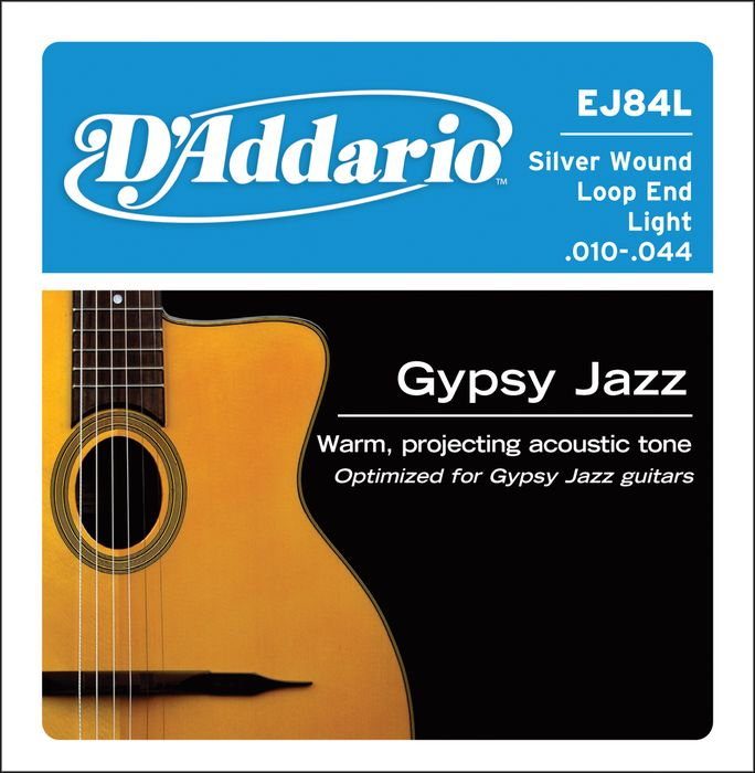 d 39 addario silver wound gypsy jazz acoustic guitar strings. Black Bedroom Furniture Sets. Home Design Ideas