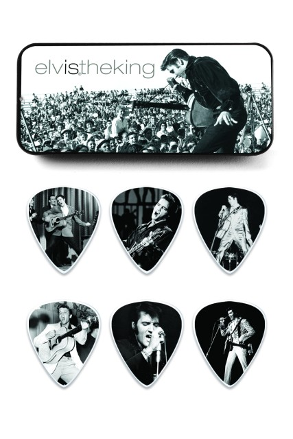 Elvis Collectible Series Guitar Picks and Tins