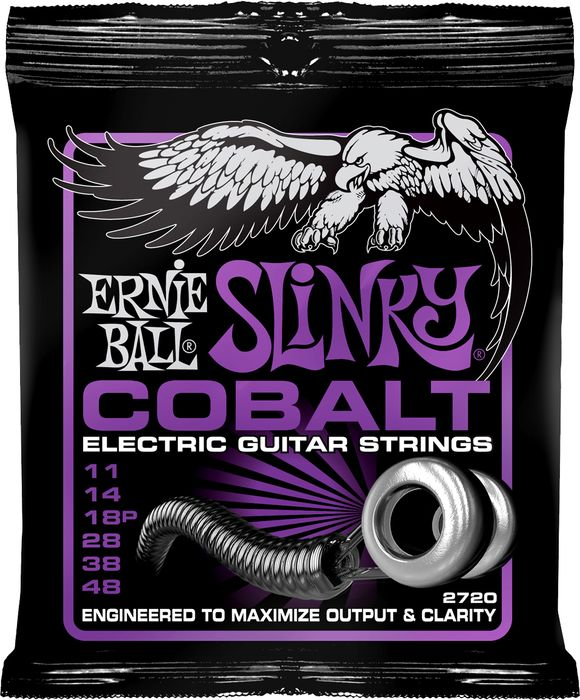 Ernie Ball Cobalt Slinky Electric Guitar Strings