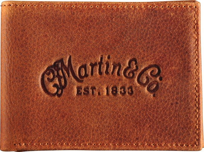 Martin SP Lifespan Phosphor Bronze Treated Acoustic Guitar Strings - 3 Pack with Leather Wallet