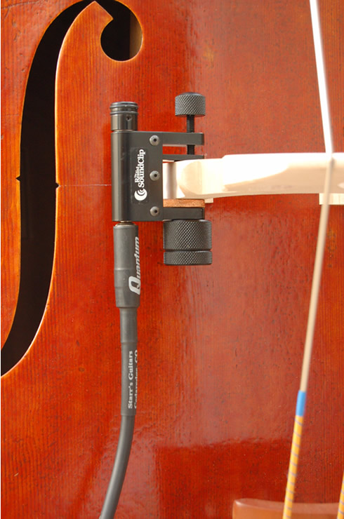 Realist Acoustic Transducer SoundClip Clamp-on Bass Pickup