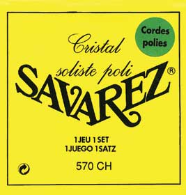 Savarez 570CH Cristal Soliste POLISHED Classical Guitar Strings High Tension