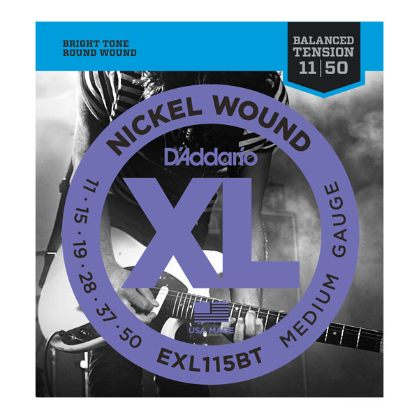 D'Addario EXL Balanced Tension Electric Guitar Strings