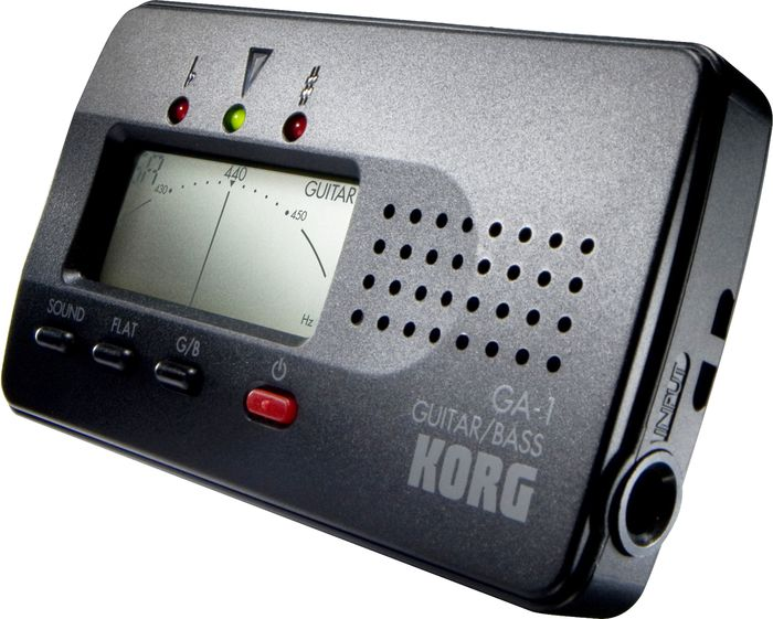 Korg GA-1 Digital Acoustic / Electric Guitar and Bass Guitar Tuner