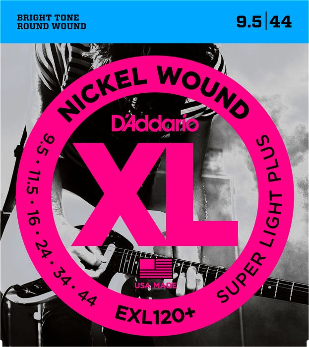 D'Addario EXL Nickel Round Wound Electric Guitar Strings