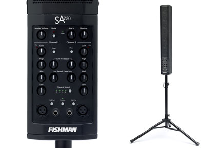 Fishman SA220 Solo Performance System - Stand & Bag Included
