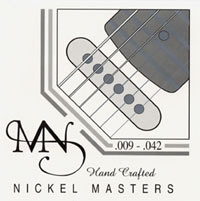 Newtone Nickel Masters Electric Guitar Strings