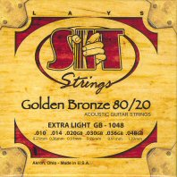 SIT 80/20 Golden Bronze Acoustic Guitar Strings