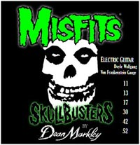Dean Markley Misfits Skullbusters Electric Guitar Strings