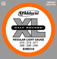 D'Addario Half Round Electric Guitar Strings