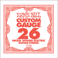 Ernie Ball Nickel Wound Single Strings