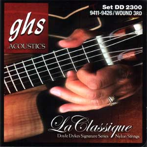 GHS Doyle Dykes Signature Series Classical Guitar Strings