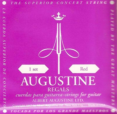 Augustine Red Regal Classical Guitar Strings