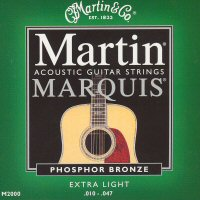 Martin Marquis Phosphor Bronze Acoustic Guitar Strings