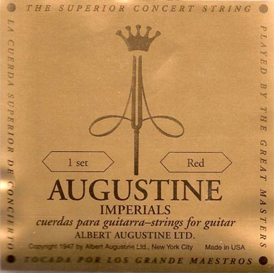 Augustine Red Imperial Classical Guitar Strings