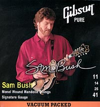 Gibson Sam Bush Monel Wound Mandolin Strings 11-41