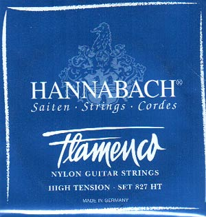 Hannabach 827 Flamenco Classical Guitar Strings High Tension