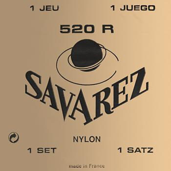 Savarez 520 R Red Traditional Classical Guitar Strings High Tension