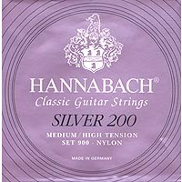 Hannabach Series 900 Silver 200 Classical Guitar Strings - Med/High Tension