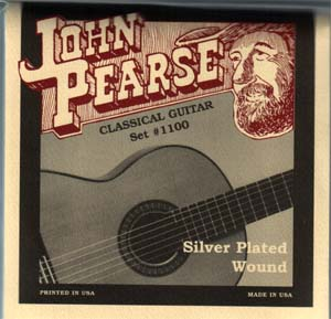 John Pearse 1100 Nylon Classical Guitar Strings Standard Tension .028 - .043