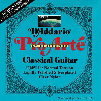 D'Addario  Pro Arte Composites  Lightly Polished Classical Strings
