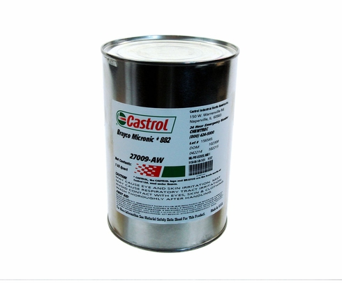 Castrol� Brayco� Micronic 882 Red MIL-PRF-83282D (1) Spec Full Synthetic ISO 15 Hydraulic Fluid - Quart Can