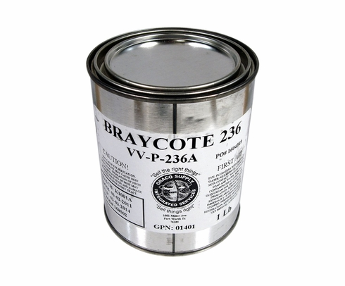 Castrol Braycote 236 VV-P-236A Spec Aviation Corrosion Preventive Grease - Pound Can
