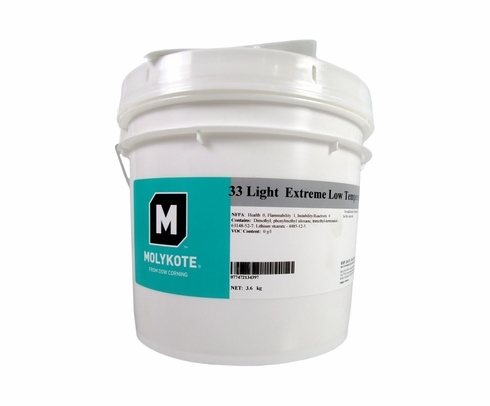 Dow Corning DC 33 Light MolyKote Grease - 3.6 Kg Can