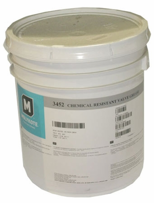 Dow Corning Molykote� 3452 Chemical Resistant Valve Grease - 18.1 Kg Pail
