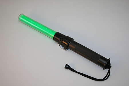 Aerosafe API-SH-410G Green LED Aircraft Marshalling Baton (CLEARANCE)