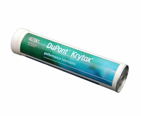 Chemours™ Krytox™ GPL 206 White PTFE Thickened Standard General-Purpose Grease - 1.76 lb Cartridge