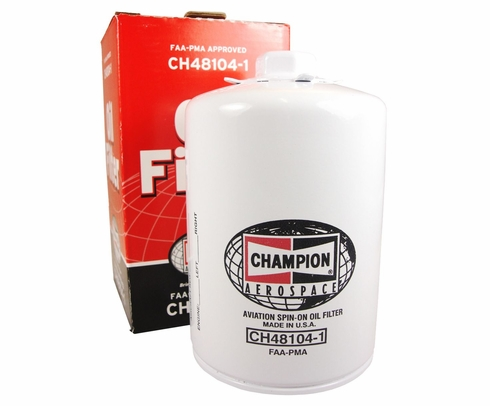 Champion Aerospace CH48104-1 Aircraft Oil Filter