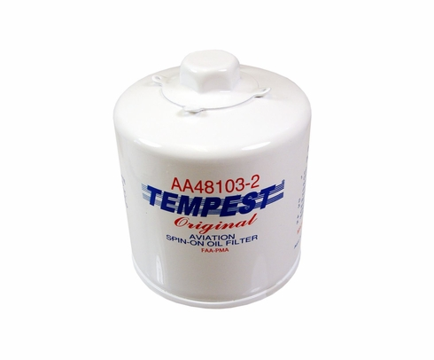 Tempest AA48103-2 Airplane Oil Filters - No Box
