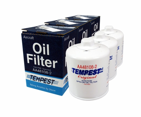 tempest aircraft oil filters from. Black Bedroom Furniture Sets. Home Design Ideas