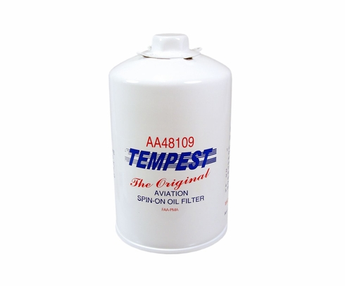 Tempest AA48109 Airplane Oil Filters - No Box