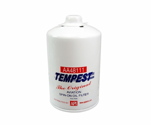 Tempest AA48111 Airplane Oil Filters - No Box