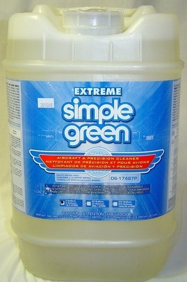 Extreme Simple Green� 13405 Aircraft & Precision Cleaner - 5 Gallon Pail