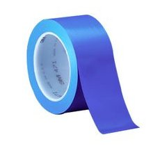"3M� 021200-06405 Blue 471 Vinyl 5.3 Mil Tape - 1/4"" x 36 Yard Roll"
