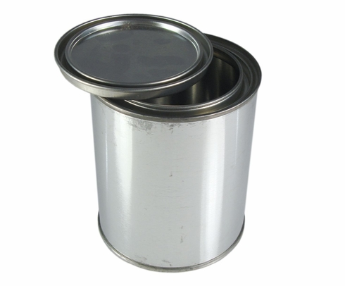 SkyGeek 1812 Tin-Coated Steel Pint Unlined Paint Can with Lid