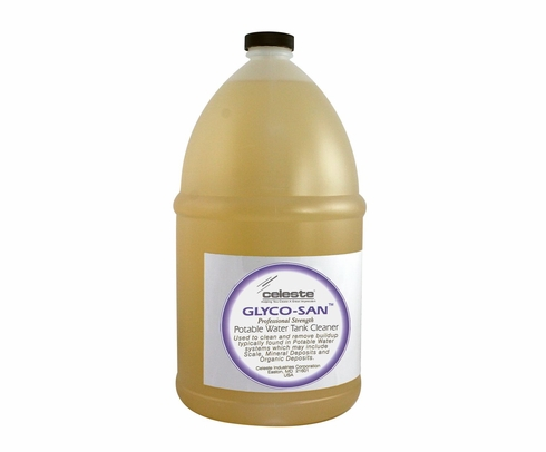 Celeste� SWGSNGGAL Glyco-San Potable Water System Cleaner & Disinfectant - Gallon