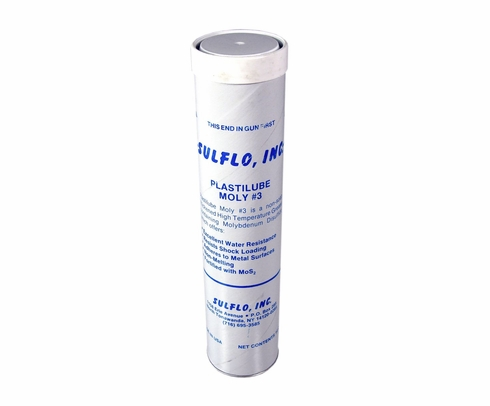 Sulflo Plastilube Moly 3 High-Temperature Grease - 14 oz Cartridge