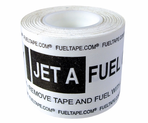 "Fuel Tape ""Jet A Fuel Only"" Indicator Tape - Black Print"