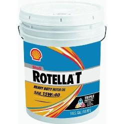 Shell Rotella� T4 Triple Protection� 15W-40 (CK-4) Heavy-Duty Diesel Engine Oil - 2.5 Gallon Jug
