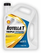Shell Rotella® T4 Triple Protection™ 15W-40 Heavy-Duty Diesel Engine Oil