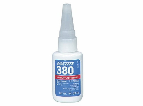 Henkel LOCTITE® 380™ Low Viscosity Rubber-Toughened Instant Adhesive from SkyGeek.com