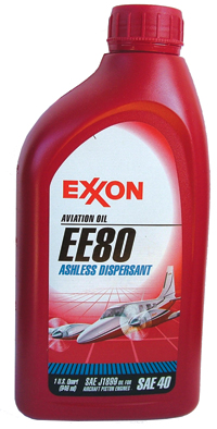 Exxon Mobil EE 80 Ashless Dispersant Aviation Piston Oil - Quart